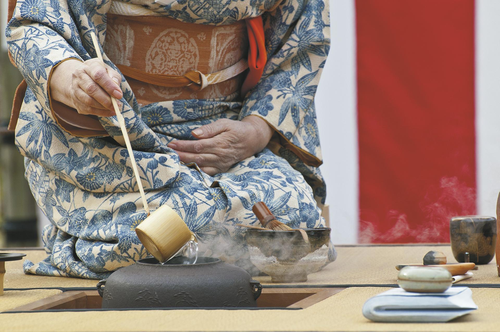 Japanische Teezeremonie - © Shutterstock