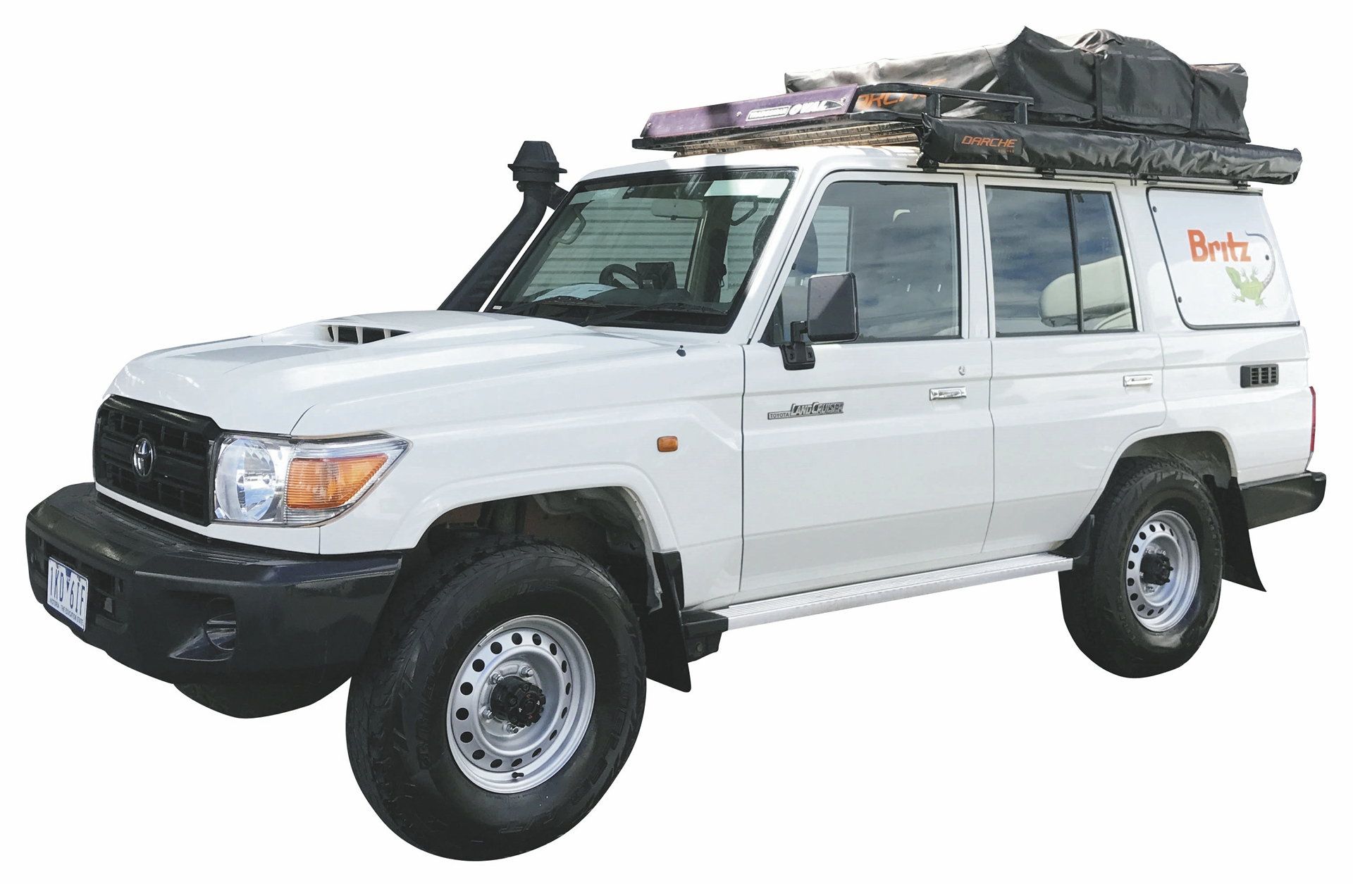 britz safari landcruiser 4wd wohnmobil mieten in australien. Black Bedroom Furniture Sets. Home Design Ideas