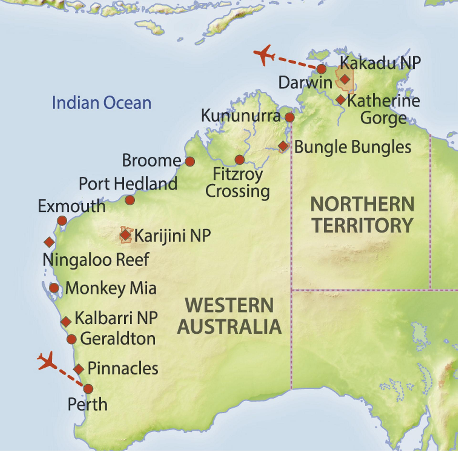 Einsame Westküste | Rundreise in Australien