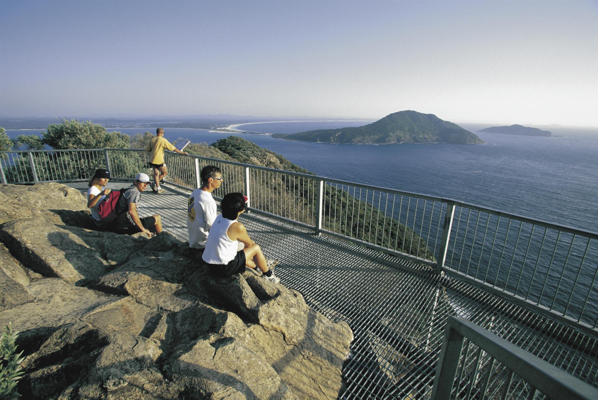 Tomaree Head Lookout, Port Stephens
