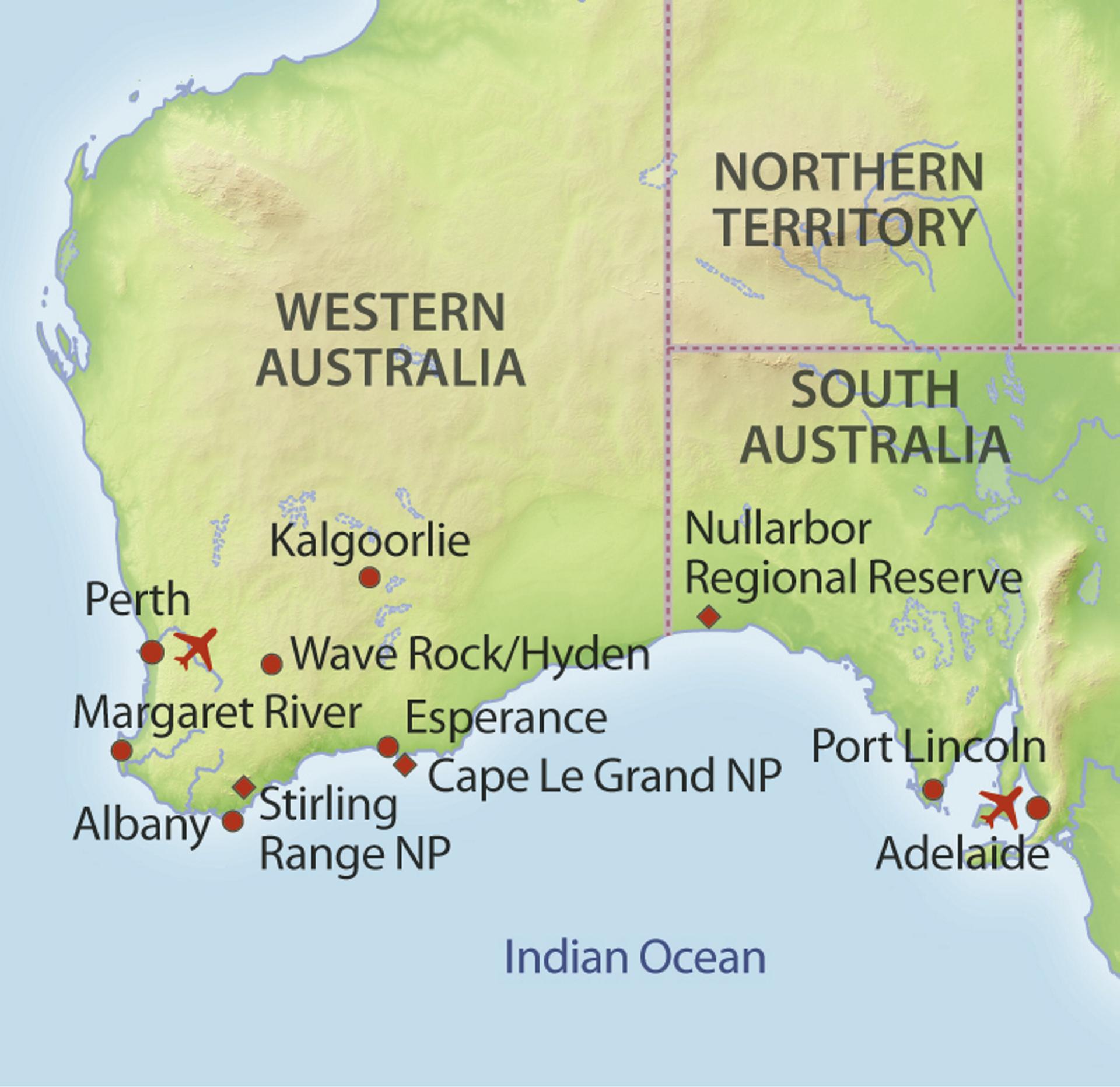 Die Nullarbor Ebene im Wohnmobil entdecken | Rundreise in Australien