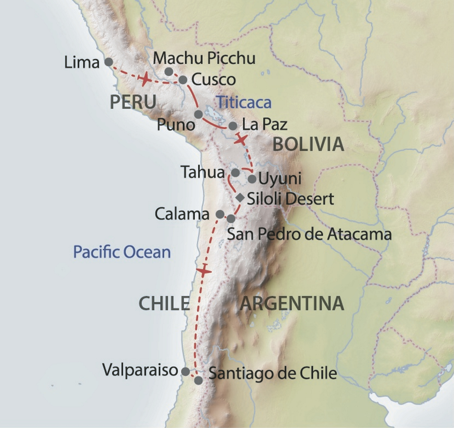 Andenpanorama | Rundreise in Bolivien / Chile / Peru