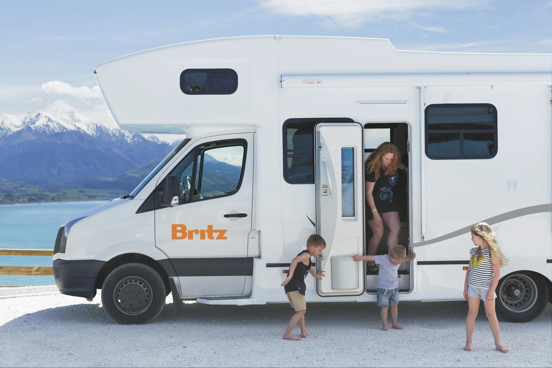 Britz Frontier  Wohnmobil mieten in Neuseeland