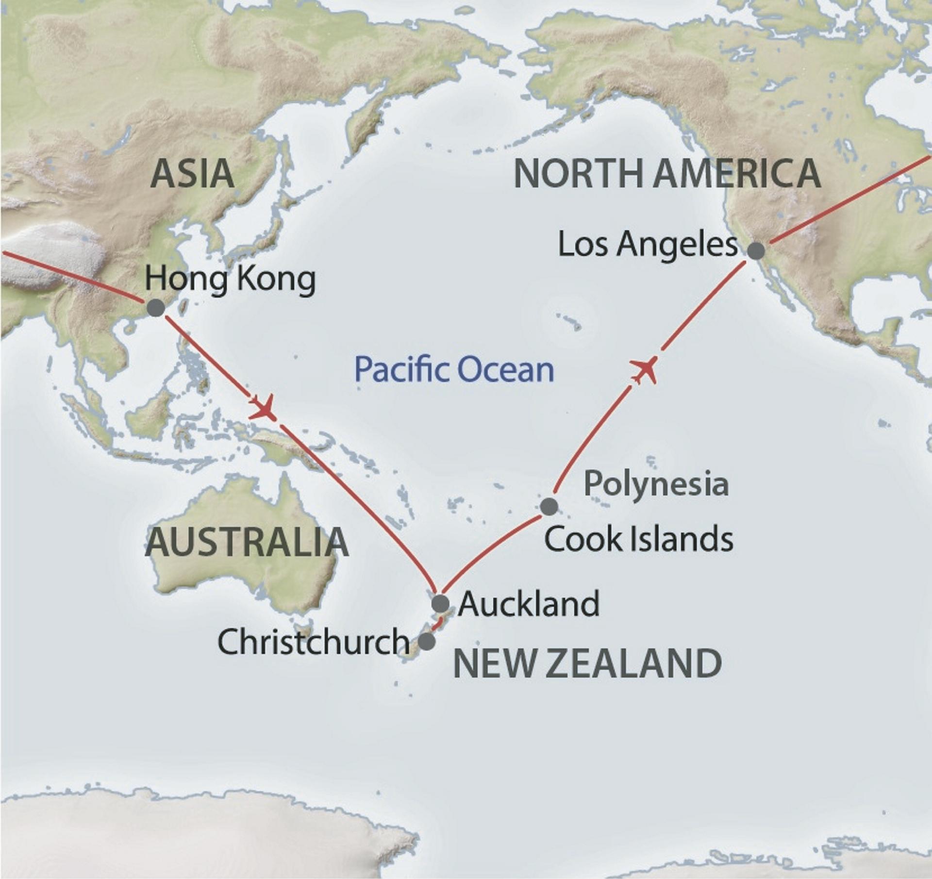 In 31 Tagen um die Welt | Rundreise in Neuseeland / Cook Islands ...