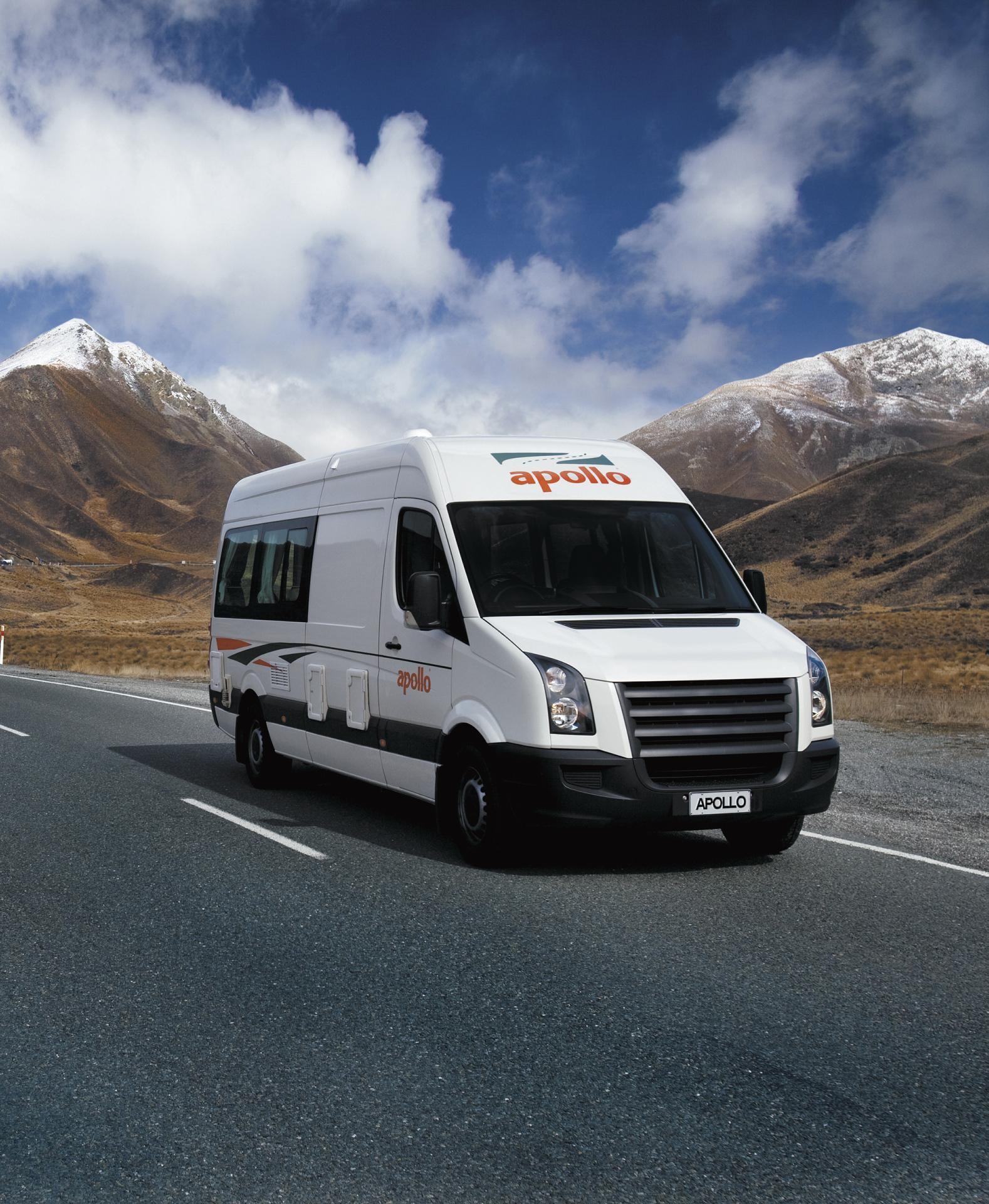 apollo euro tourer wohnmobil mieten in neuseeland. Black Bedroom Furniture Sets. Home Design Ideas