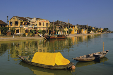 Alter Hafen in Hoi An