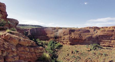 Beim Kings Canyon Rim Walk