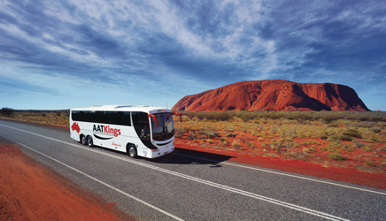 unterwegs am Ayers Rock