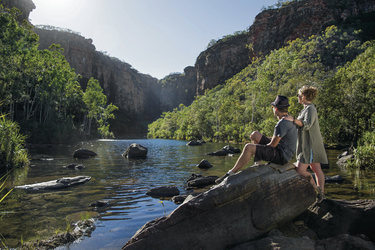 Jim Jim Falls Kakadu Nationalpark @Tourism NT
