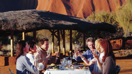 optional BBQ am Ayers Rock
