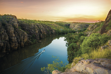 Nitmiluk (Katherine Gorge) Nationalpark ©Tourism NT