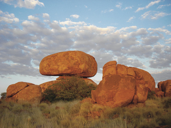 Devils Rock, nahe Tennant Creek