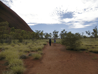 Beim Uluru Base Walk