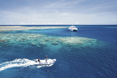 Ocean Quest am Great Barrier Reef ©Katie Purling