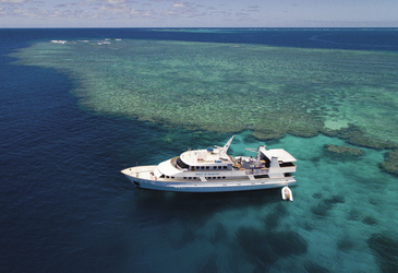 Spirit of Freedom am Great Barrier Reef