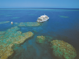 Coral Princess am Great Barrier Reef