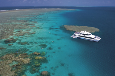 Silversonic am Great Barrier Reef
