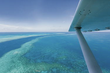 Blick auf´s Great Barrier Reef