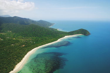 Cape Tribulation aus der Luft