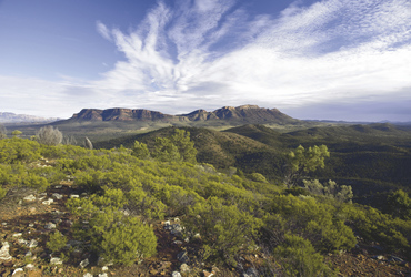 Blick in die Flinders Ranges