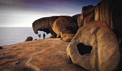 Bei den Remarkable Rocks