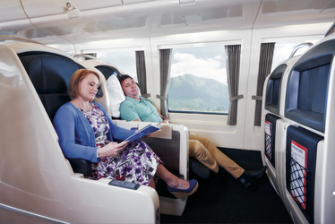 RailBeds im Spirit of Queensland - Reisen wie in der Business Class