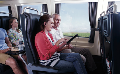 Spirit of Queensland, Premium Economy Sitze