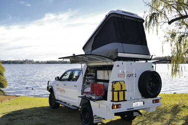 RedSands 4WD Double Cab Camper