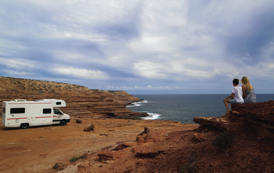 Britz Explorer im Kalbarri National Park