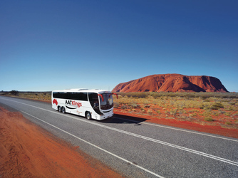 Unterwegs am Uluru (Ayers Rock)