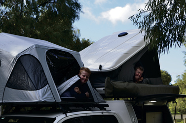 Double Cab 4WD Camper