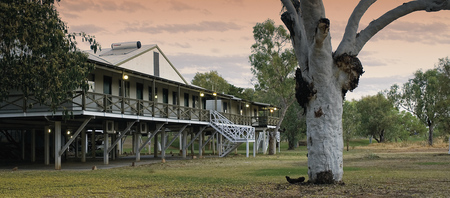 Erster Stopp: Fitzroy River Lodge