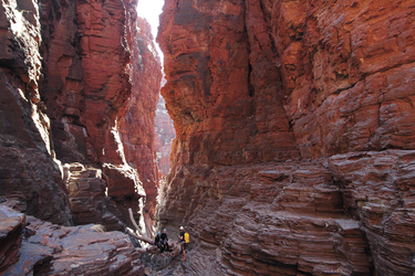 Knox Gorge, Karijini Nationalpark