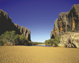 In der Windjana Gorge