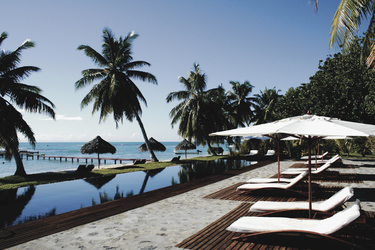 Poollandschaft des Princesse Bora Hotels