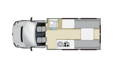 Apollo Euro Tourer: Tag-Layout