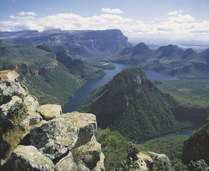 Am Blyde River Canyon