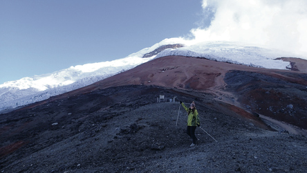 Eisgrenze am Cotopaxi