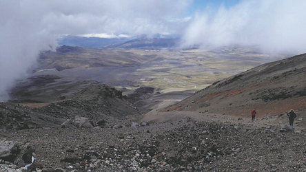 Blick ins Tal vom Cotopaxi