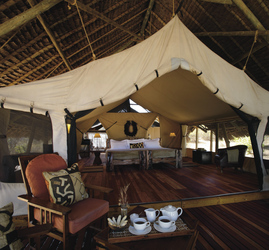 Jongomero Camp im Ruaha Nationalpark
