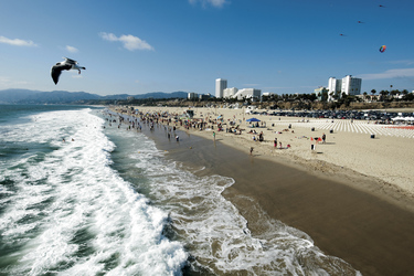 Santa Monica Strand, Los Angeles