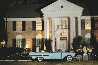 Graceland in Memphis - c Tennessee Tourism