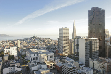 Skyline von San Francisco - California Travel and Tourism Commission/Andreas Hub