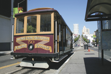 Cable Car, San Francisco - ©TravelDreamWest