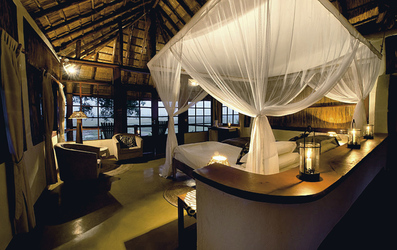 Kafunta River Lodge, Chalet