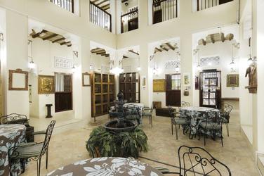 Innenhof im arabischen Stil