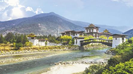 Punakha Dzong - Palast der Glückseligkeit