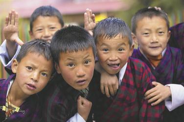 Kinder beim Spielen , ©Local Roots