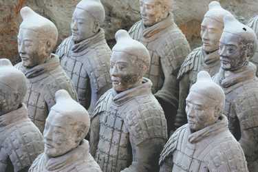 Terrakotta Armee in Shaanxi