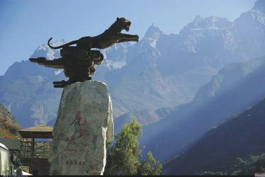 Tigersprungschlucht in Lijiang